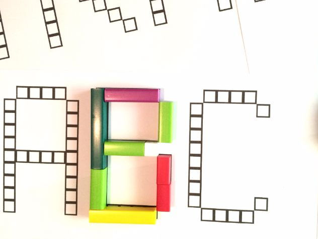 Font for Cuisenaire Rods
