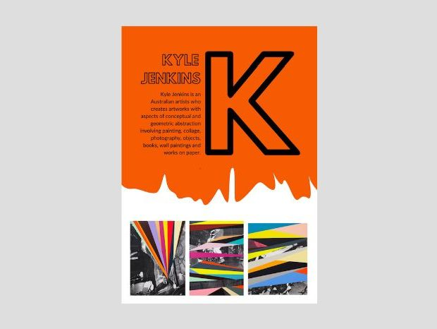 Artist A to Z | K | Kyle Jenkins | Abstract Rock 'n' Roll colouring/collaging pages