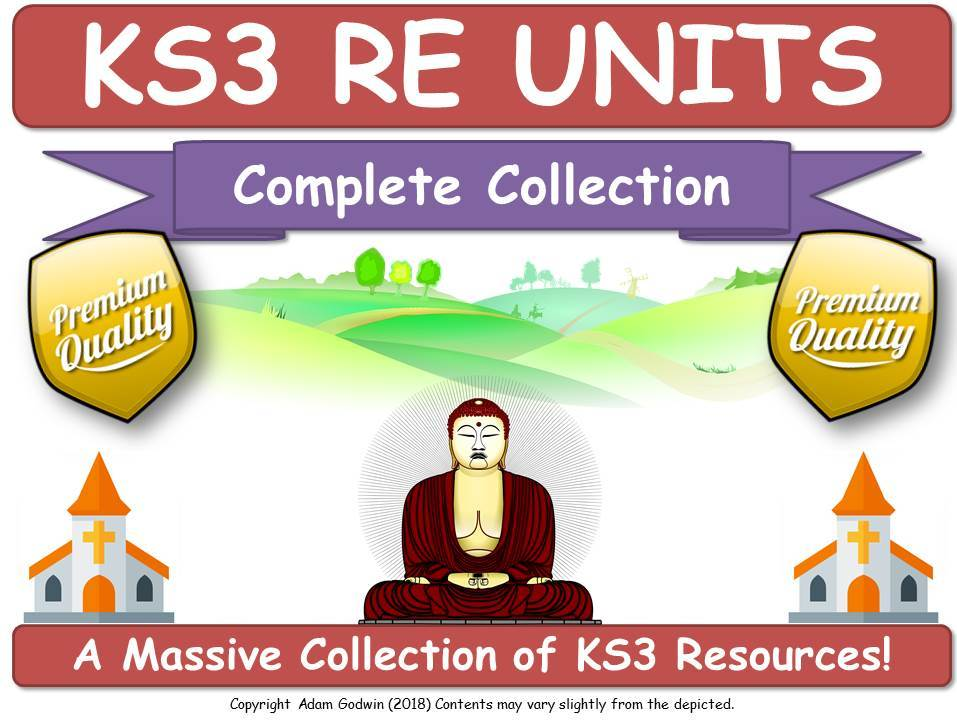 KS3 RE [6 COMPLETE UNITS!]
