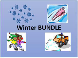 Invierno (Winter in Spanish) Bundle