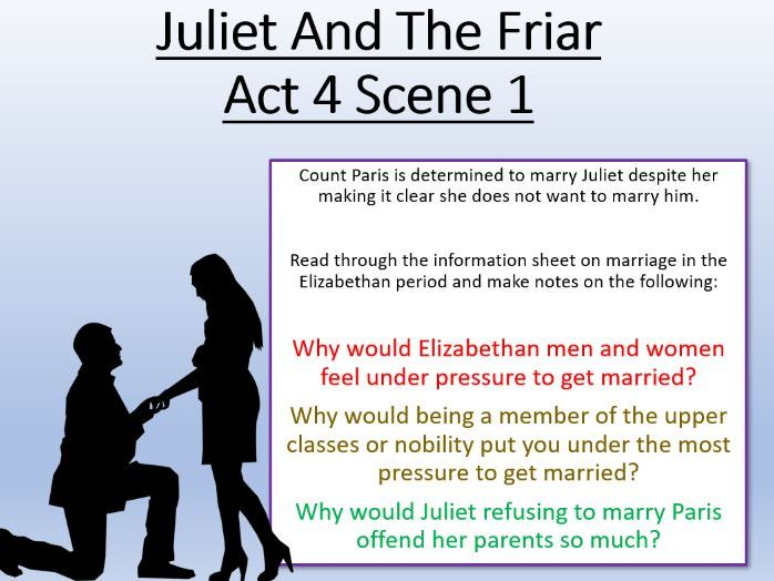 Romeo and Juliet - Juliet And The Friar