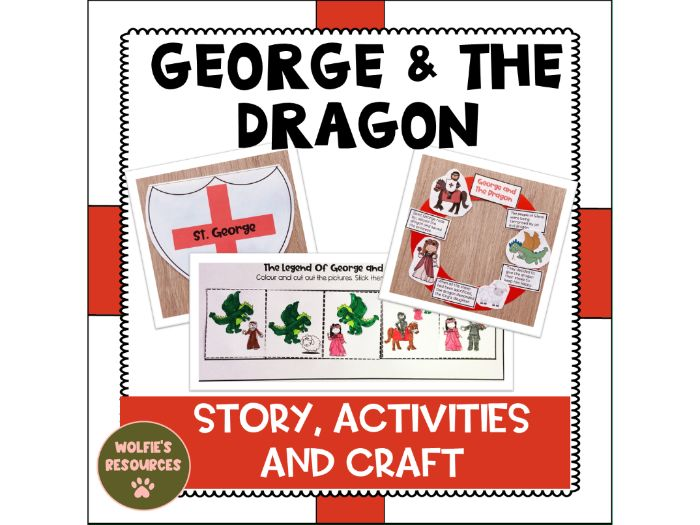 St George and the Dragon KS1