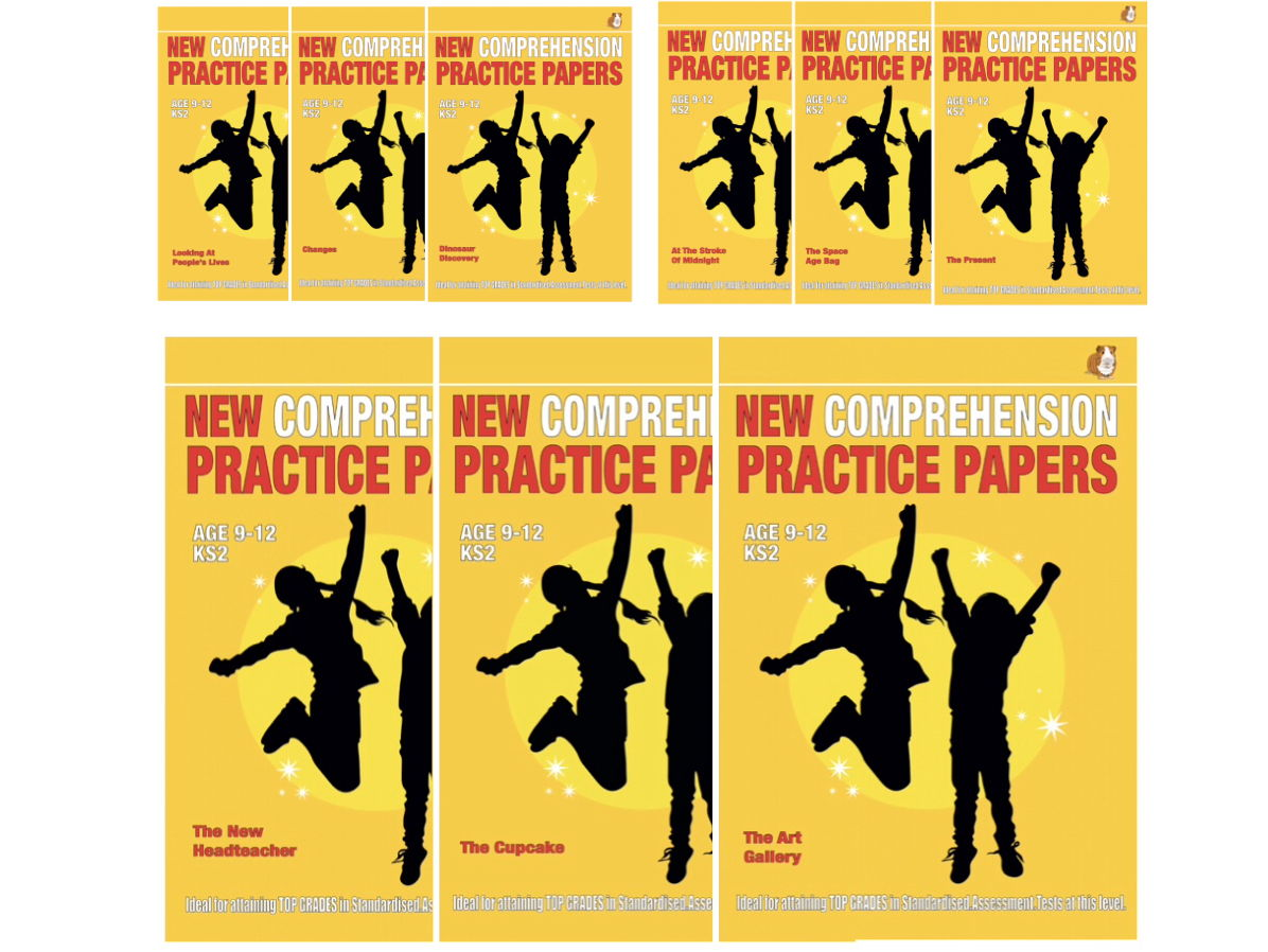 Practise  SATS Tests COMPLETE SET (9-12 years)