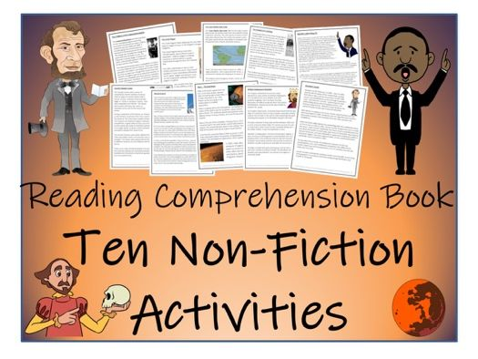 UKS2 Literacy - Non-Fiction Reading Comprehension Activity Book (10 Activities)