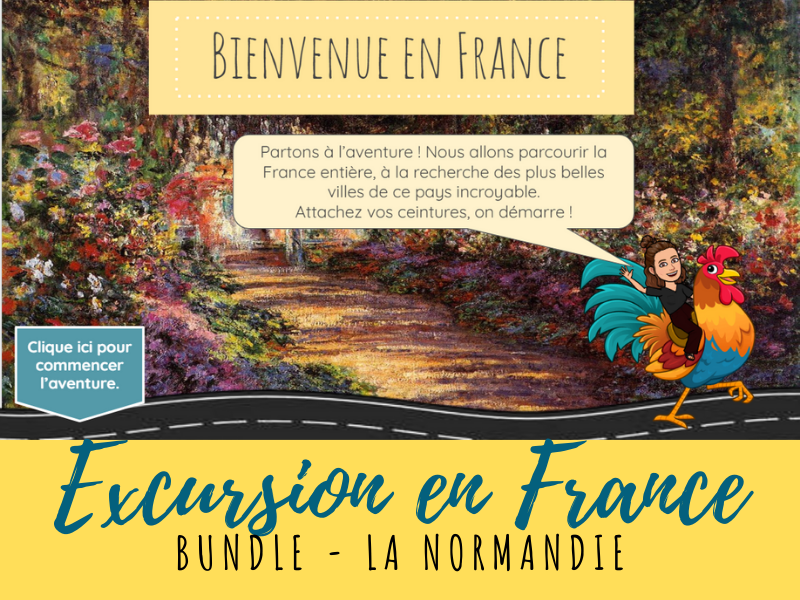 French Virtual Field Trip - Normandie region