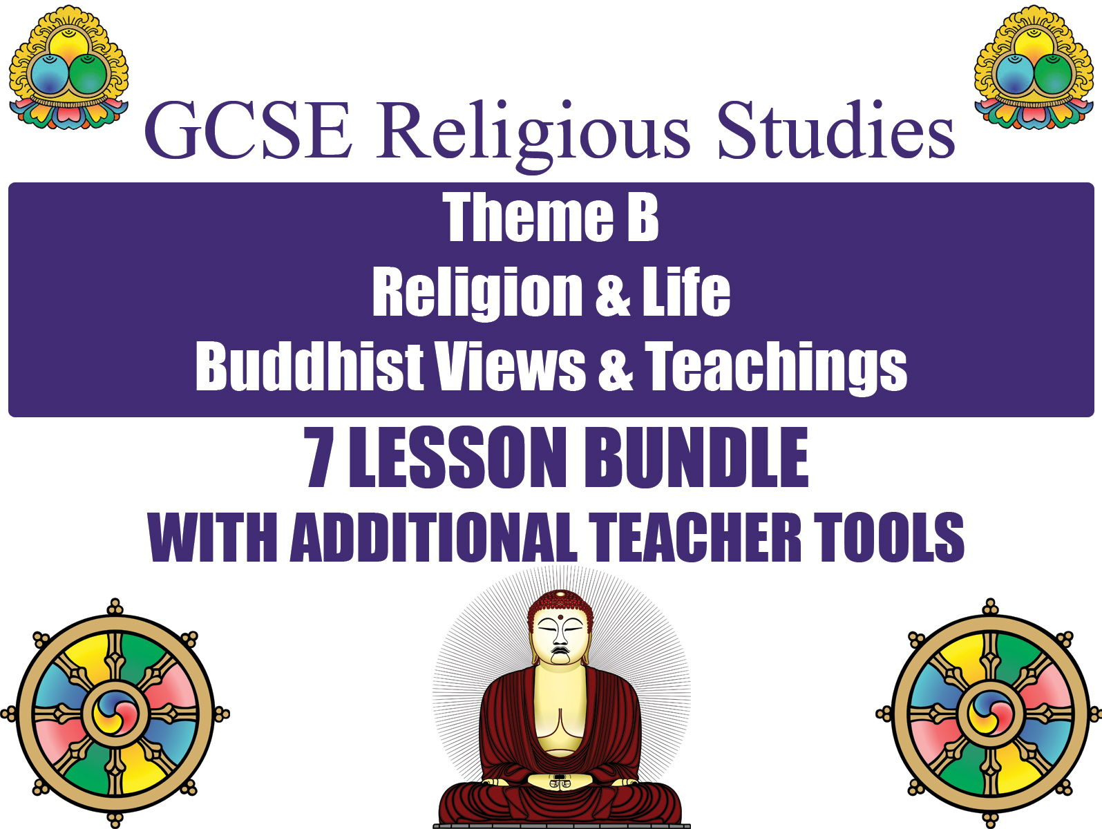GCSE Buddhism - Religion & Life (7 Lessons)