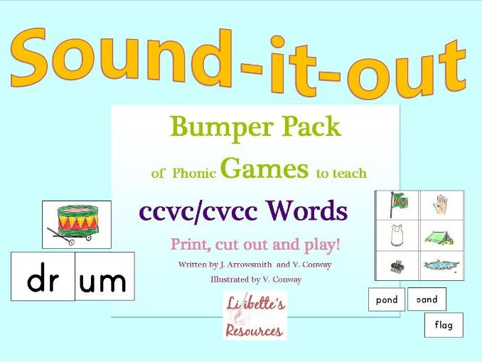 Phonic Games to Teach CVCC Words for Reception/Yr 1 and Special Needs