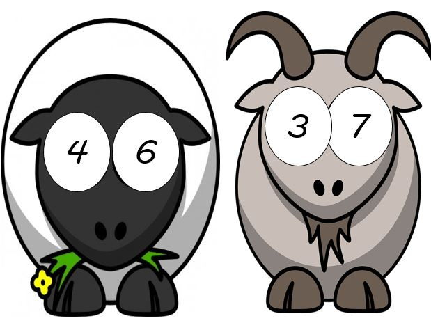 Number Bonds to 10 and Number Bonds to 20 - Animals