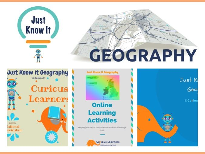 JKIG Free Locational Knowledge and vocabulary Pack