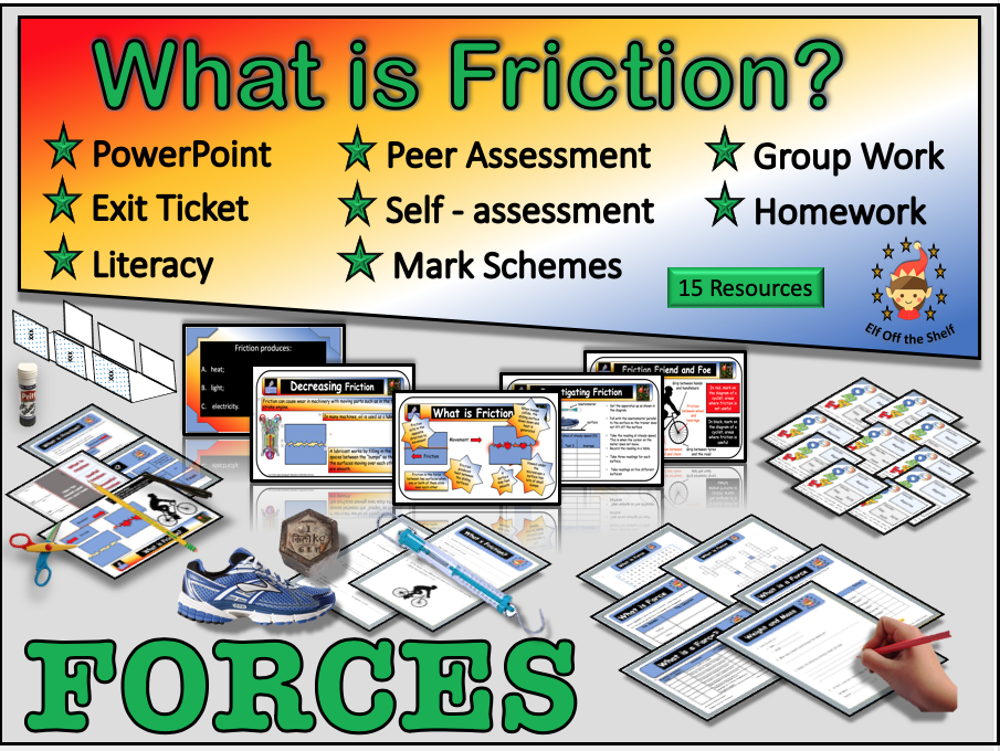 Forces - What is Friction? KS3
