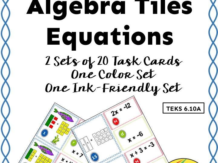 Interpreting Equations from Algebra Tiles Models