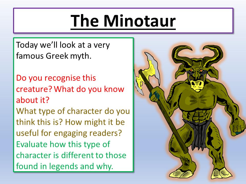 Myths and Legends Vocabulary