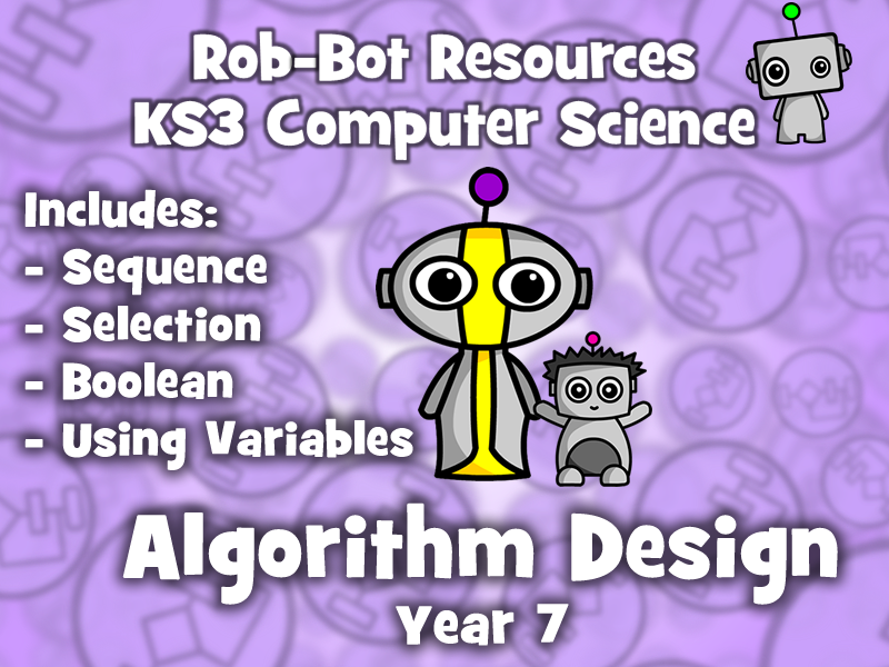 KS3 Computer Science:  Algorithm Design - Year 7