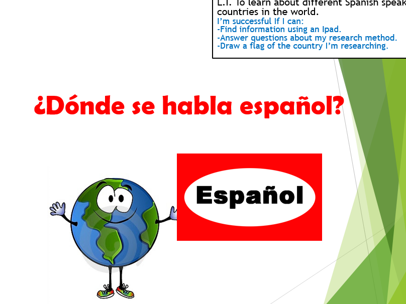 Spanish around the world (Full lesson)