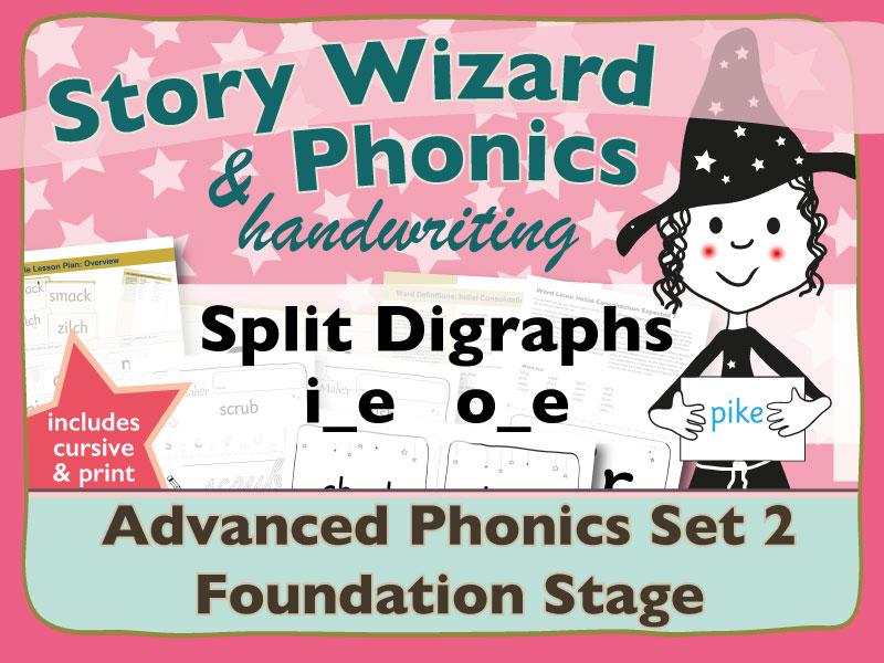 Advanced Phonics Set 2: Split Digraphs i_e and o_e