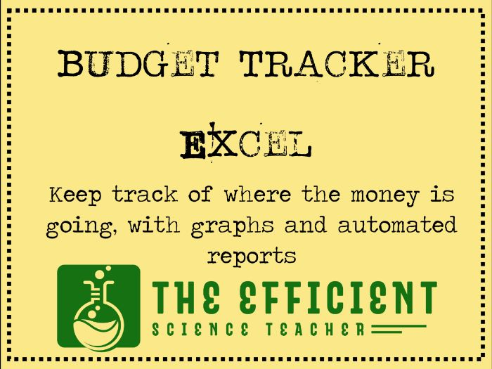 Budget Tracker - Head of Department