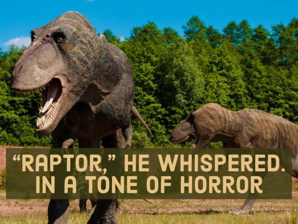 Jurassic Park: AQA Language Paper 1