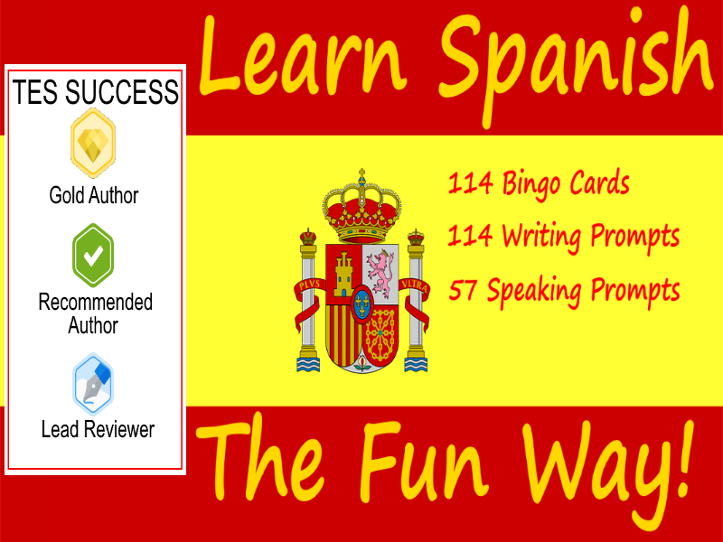 Learning Spanish The Fun Way! Bundle