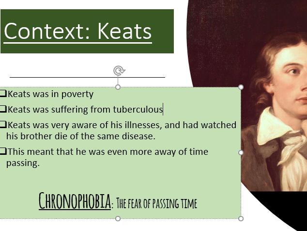to autumn keats analysis