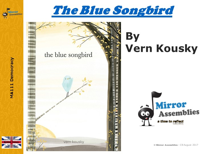 The Blue Songbird – Finding your own Voice