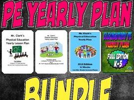 Mr. Clarks' Ultimate PE Yearly Plan Bundle