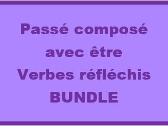 Verbes réfléchis au Passé composé French Bundle