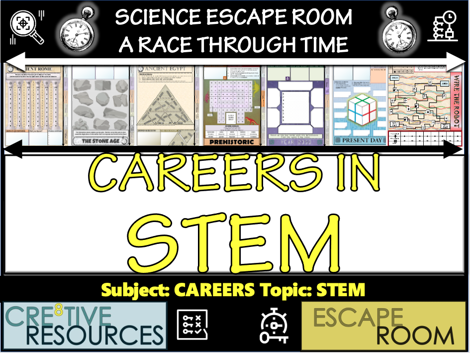 Careers in STEM - Escape Room