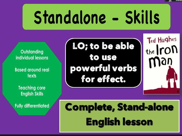 Outstanding STANDALONE SKILLS lesson. POWERFUL VERBS