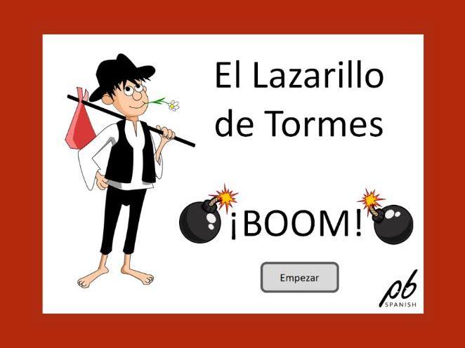 El juego del Lazarillo de Tormes - Juego Boom / The Lazarillo's game - Interactive Boom game