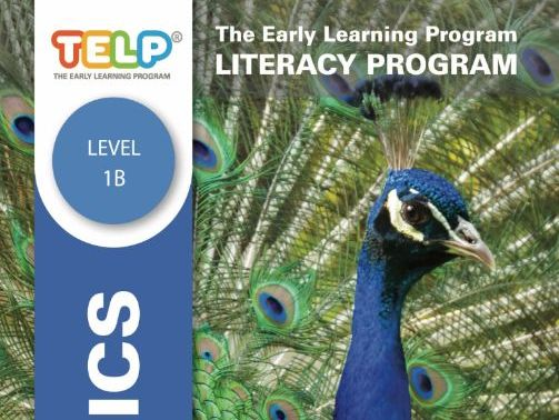 Phonics 1B - TELP's Literacy Program