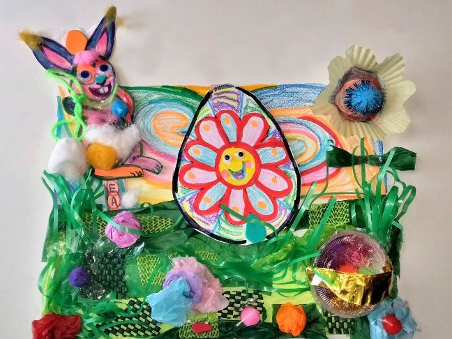 Interactive Peek-A-Boo I See You Hoppity Bunny Landscape