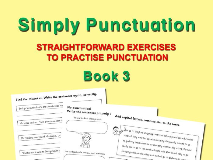 SIMPLY PUNCTUATION BOOK 3