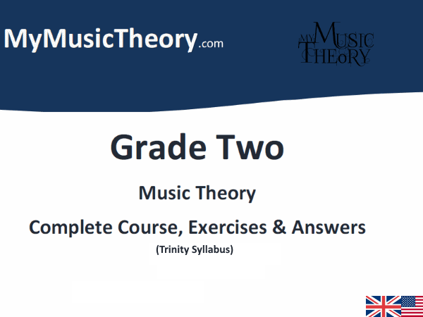 Grade 2 Music Theory (Trinity) Course & Exercises
