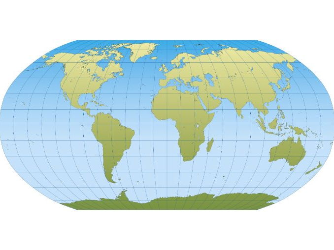 What are map projections? A geography CLIL / ESL lesson plan