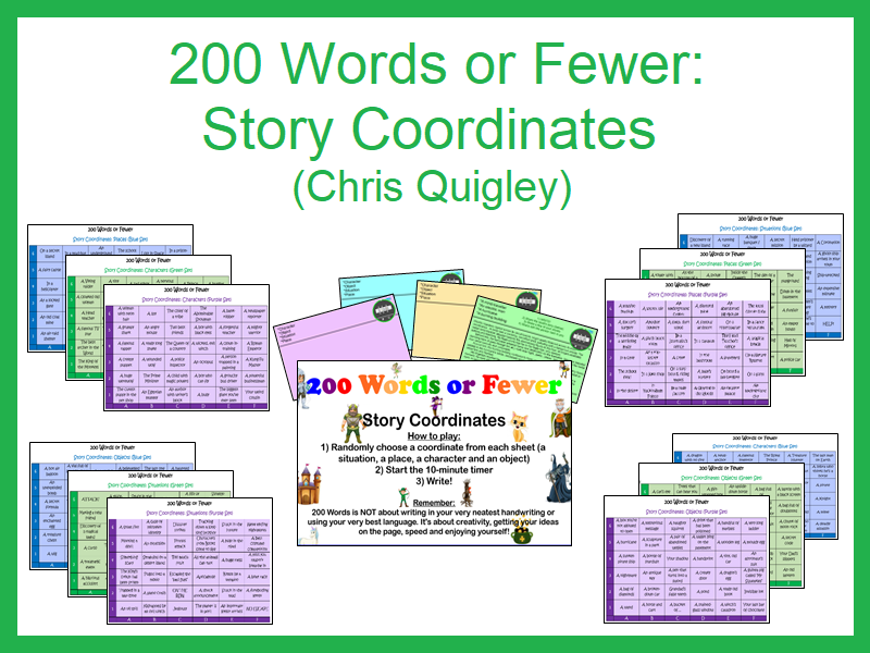 200 Words or Fewer: Story Coordinates (Chris Quigley)