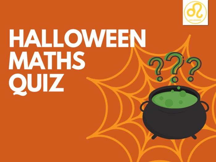 Halloween Maths Quiz