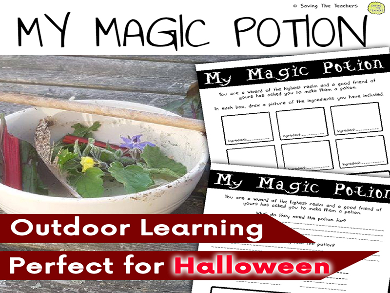 My Magic Potion Outdoor Literacy Activity