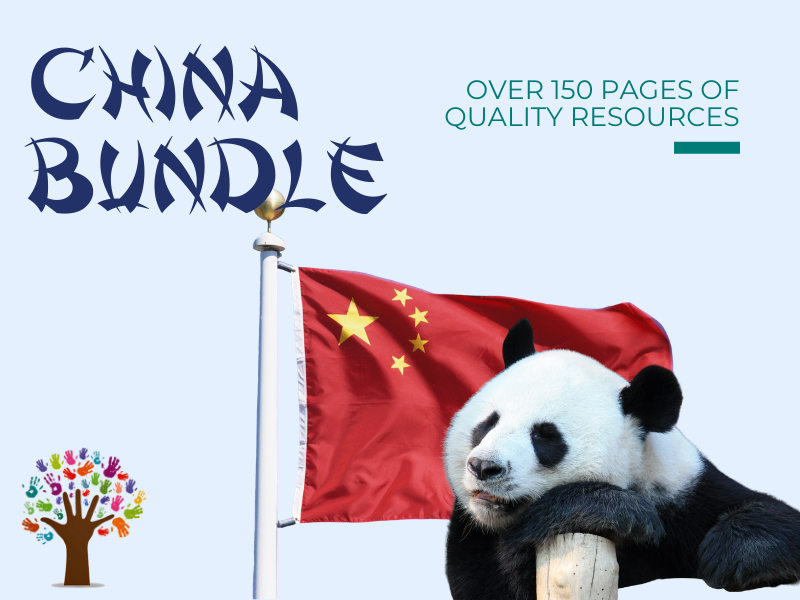 Montessori: China Unit Study - Bundle