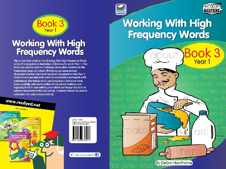 Working With High Frequency Words - Book 3