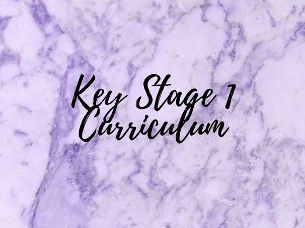 Key Stage 1 Curriculum
