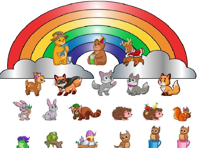 """18 page booklet """"Mon zoo de couleurs"""""""