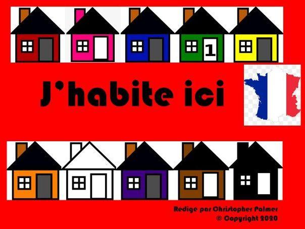 French: Où habites-tu? (Key Stage 3)