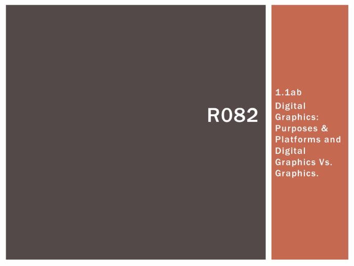 R082 - Creating Digital Graphics, P&P and DGVsG [LO1.1], CAMNATS, Creative iMedia Lvls 1/2