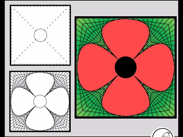 Poppy Art – Remembrance Day, Memorial Day, Armistice Day, Anzac Day.