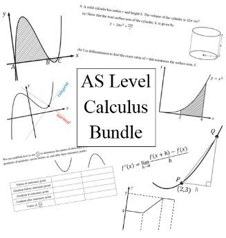 AS level calculus bundle for new A level