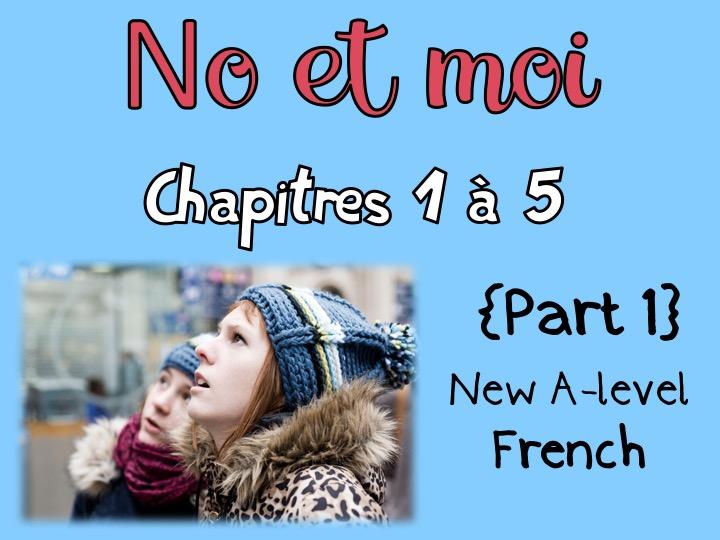 NO et MOI {Part 1} - Etude des chapitres 1 à 5 {New A-level and A2} - Newly updated!!