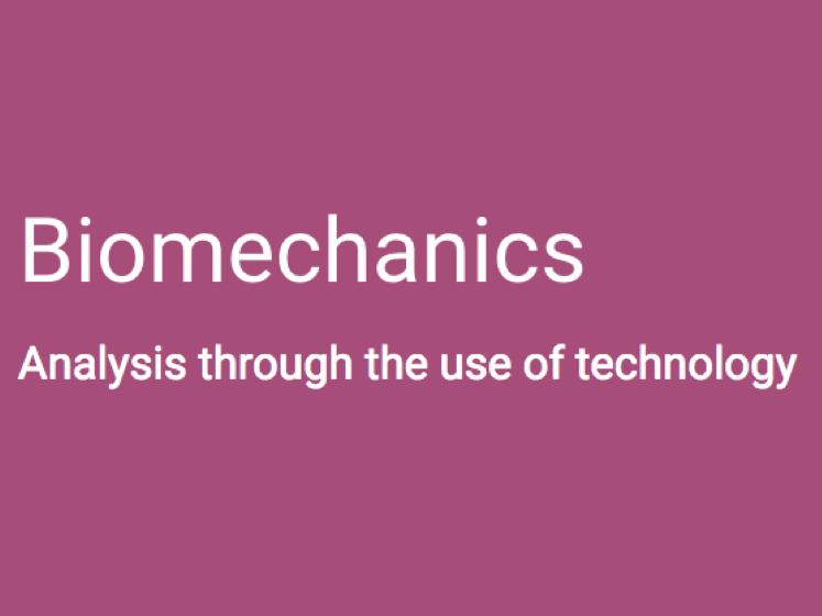 A-Level PE (OCR): Biomechanics & Technology