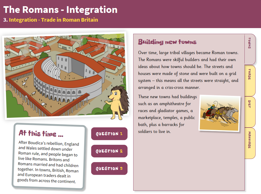 Trade - Interactive Teaching Book - Roman Britain KS2