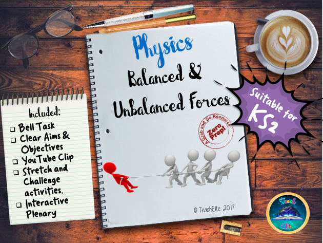 Forces: Balanced and Unbalanced Force  KS2