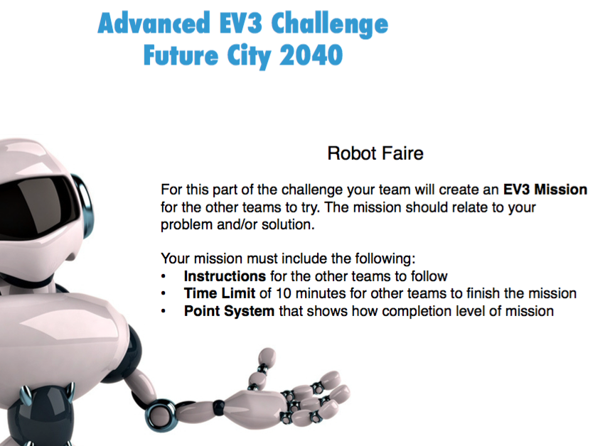 Advanced EV3 Mindstorms: Project - Future City